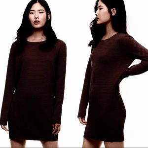 Wilfred Silk and Cashmere sweater Dress
